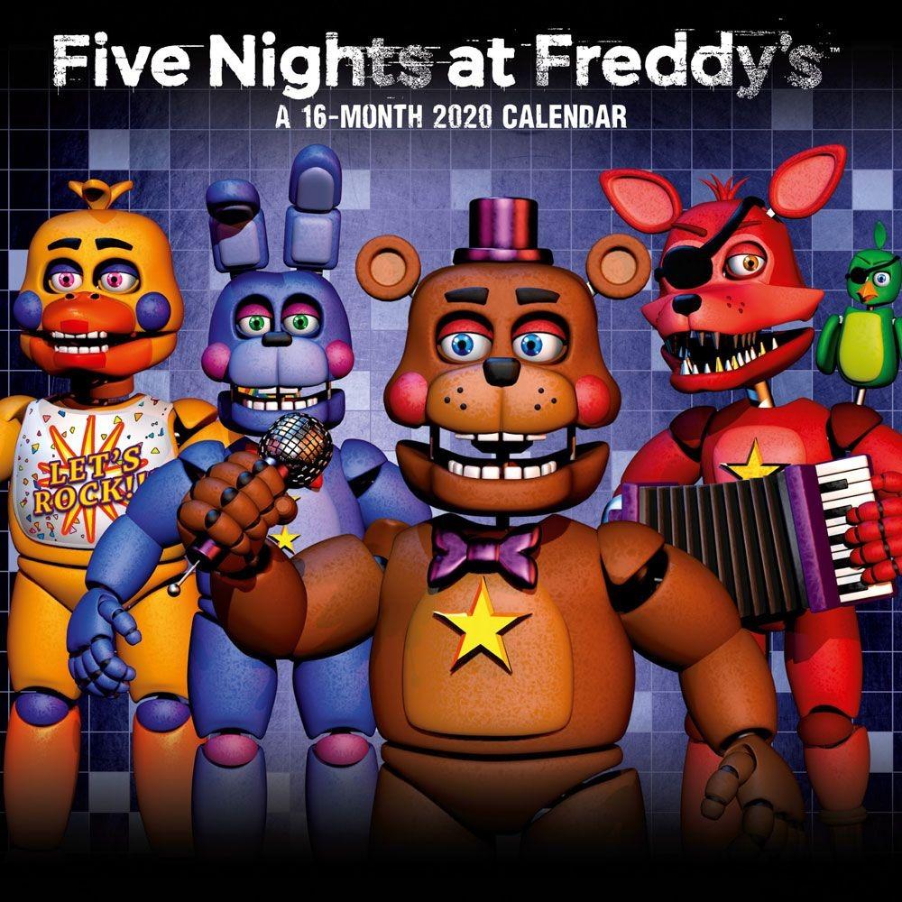 Kalendář Five Nights At Freddys 2020 (PC)