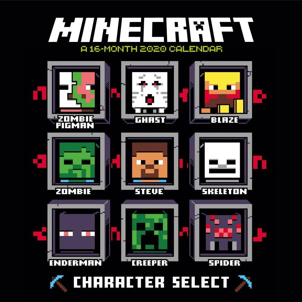 Kalendář Minecraft 2020 (PC)