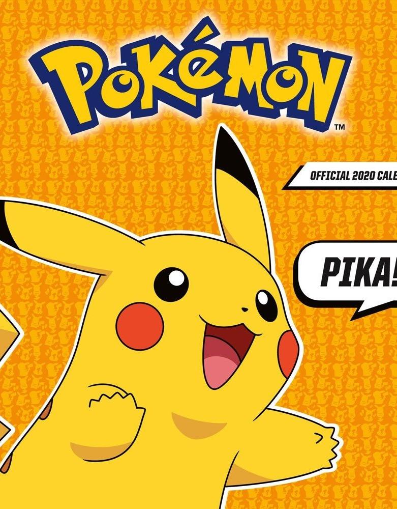Kalendář Pokémon 2020 (PC)