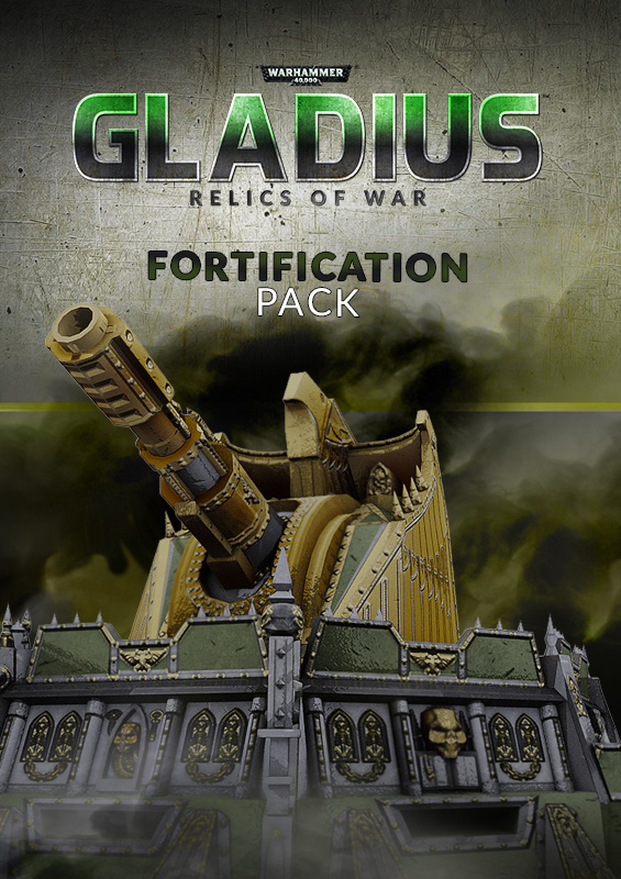 Warhammer 40,000: Gladius - Fortification Pack (PC) Steam (PC)