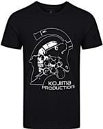 Tričko Kojima Productions - Logo (velikost M) (PC)