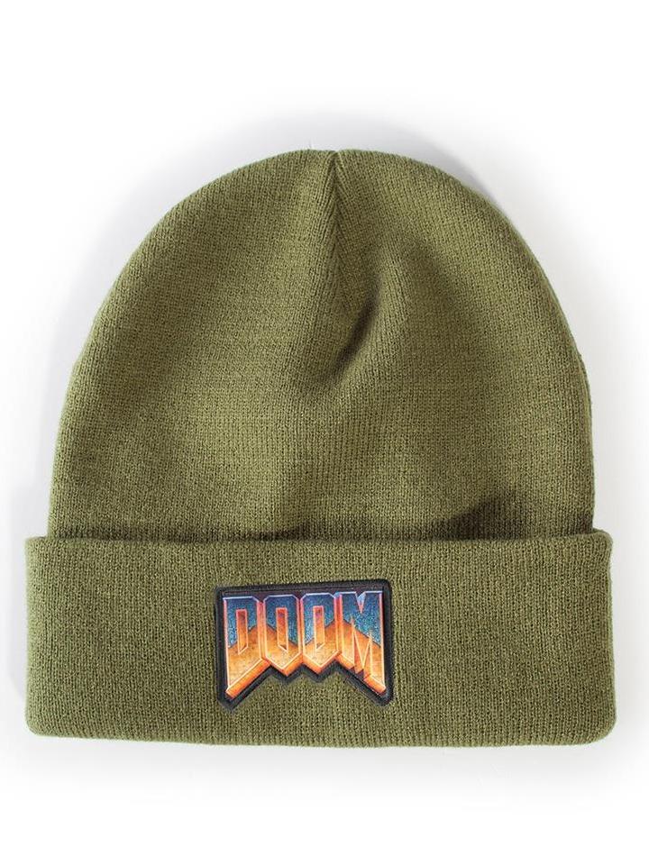 Čepice Doom - Logo Beanie (PC)