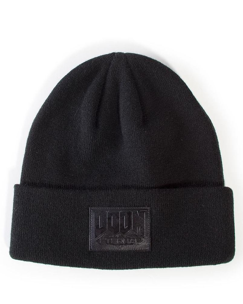 Čepice Doom Eternal - Logo Roll Up Beanie (PC)