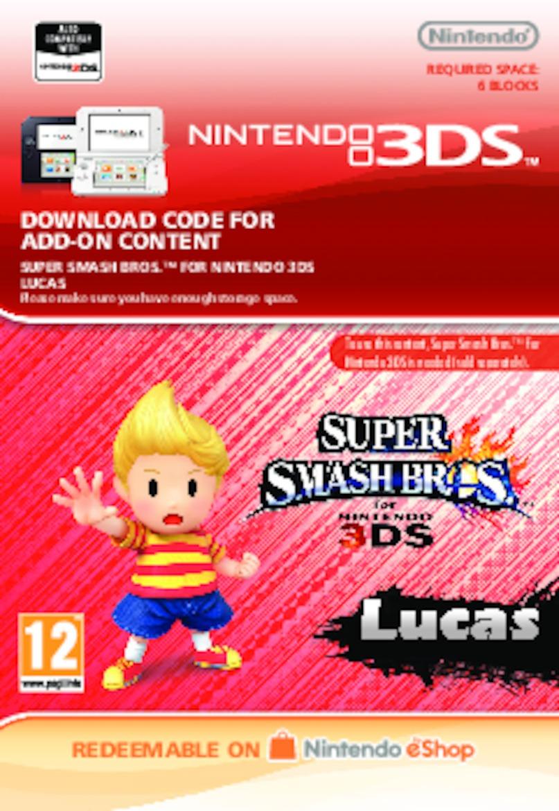 Super Smash Bros.: Lucas (3DS) DIGITAL (PC)