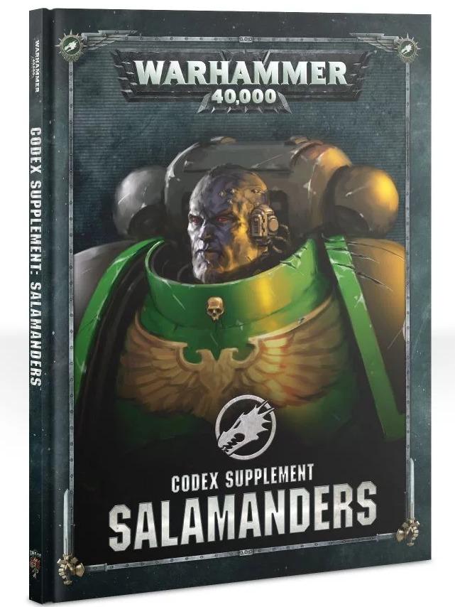 Kniha W40k: Codex Supplement: Salamanders (PC)
