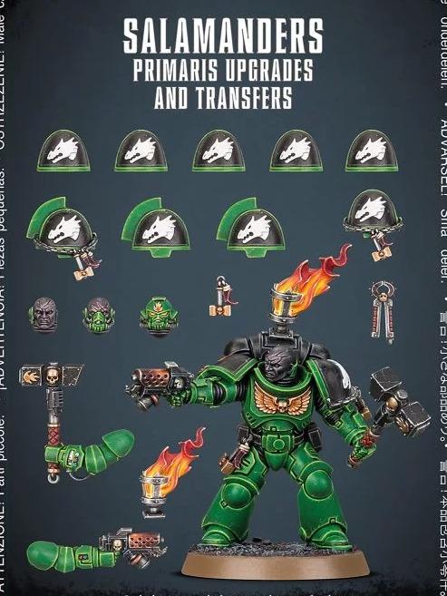 W40k: Salamanders Primaris Upgrades and Transfer (PC)