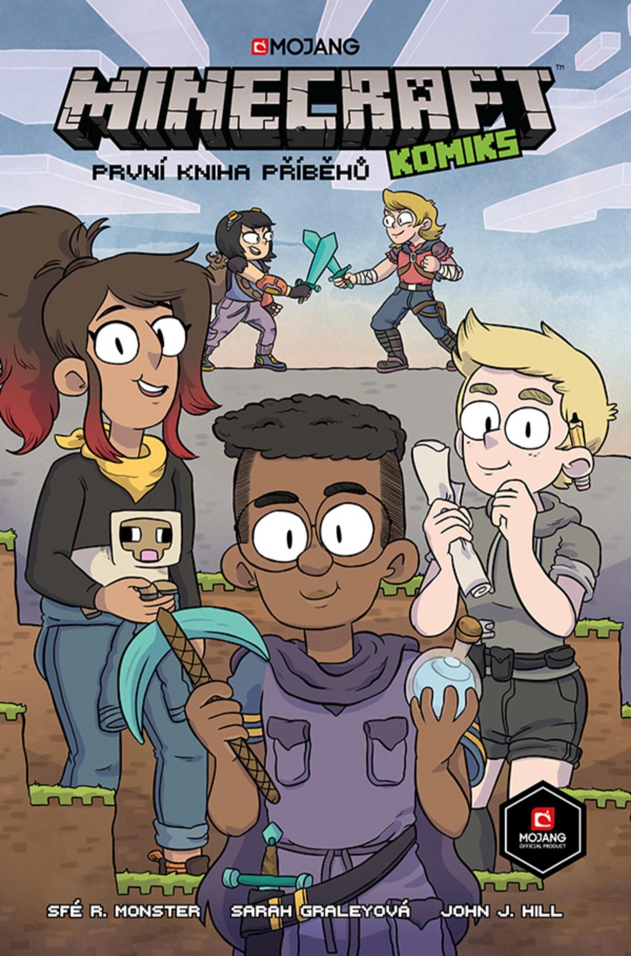Komiks Minecraft: První kniha příběhů (PC)