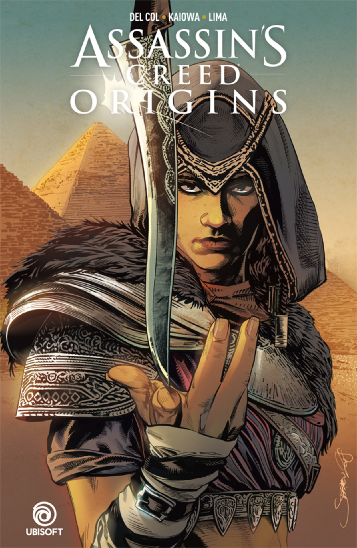 Komiks Assassins Creed: Origins (PC)