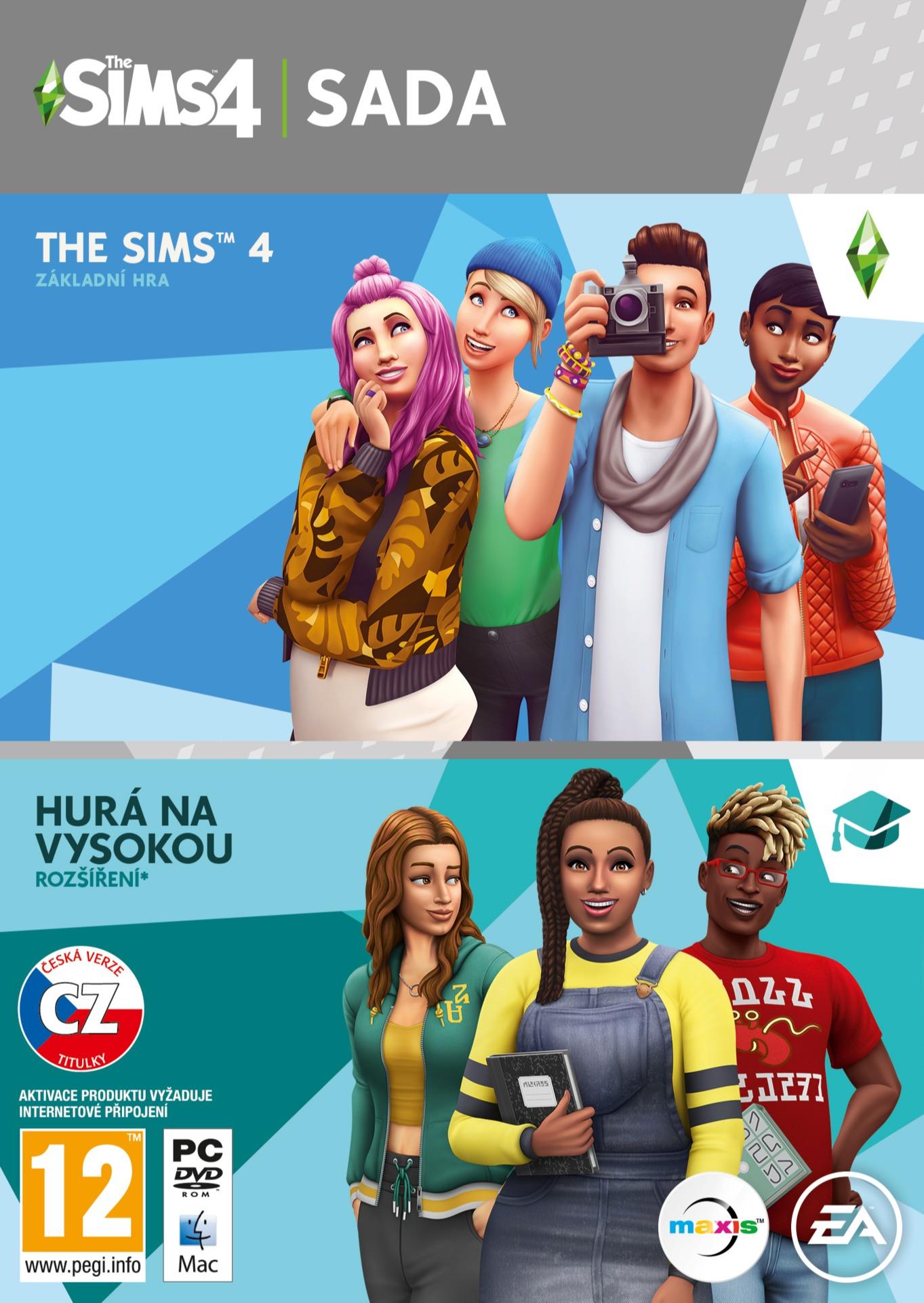 The Sims 4 + rozšíření Hurá na vysokou (PC)