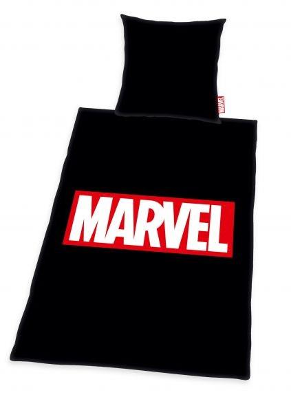 Povlečení Marvel - Logo (černé) (PC)