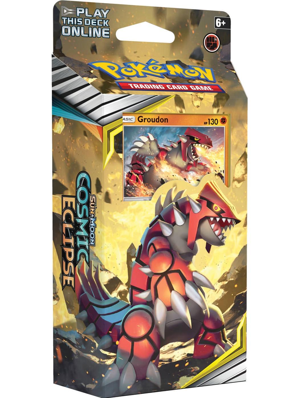Karetní hra Pokémon TCG: Cosmic Eclipse - Groudon (Starter set) (PC)