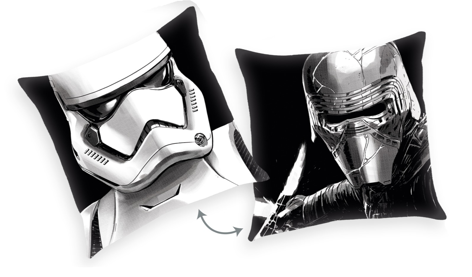 Polštář Star Wars - Kylo Ren/Stormtrooper (PC)