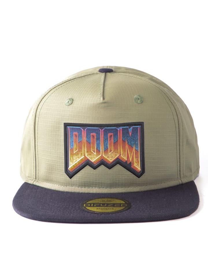 Kšiltovka Doom: Eternal - Retro Logo Snapback (PC)