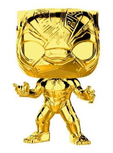 Figurka Marvel - Black Panther (chrome) (Funko POP!) (PC)