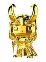 Figurka Marvel - Loki (chrome) (Funko POP!)