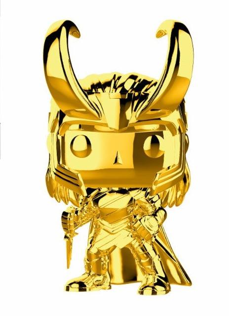 Figurka Marvel - Loki (chrome) (Funko POP!) (PC)