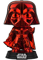 Figurka Star Wars - Red Chrome Darth Vader (Funko POP! Bobble-Head)