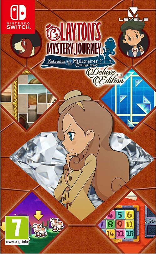 LAYTON's MYSTERY JOURNEY : Katrielle and the Millionaires Conspiracy - Deluxe Edition (Switch) DIGITAL (PC)