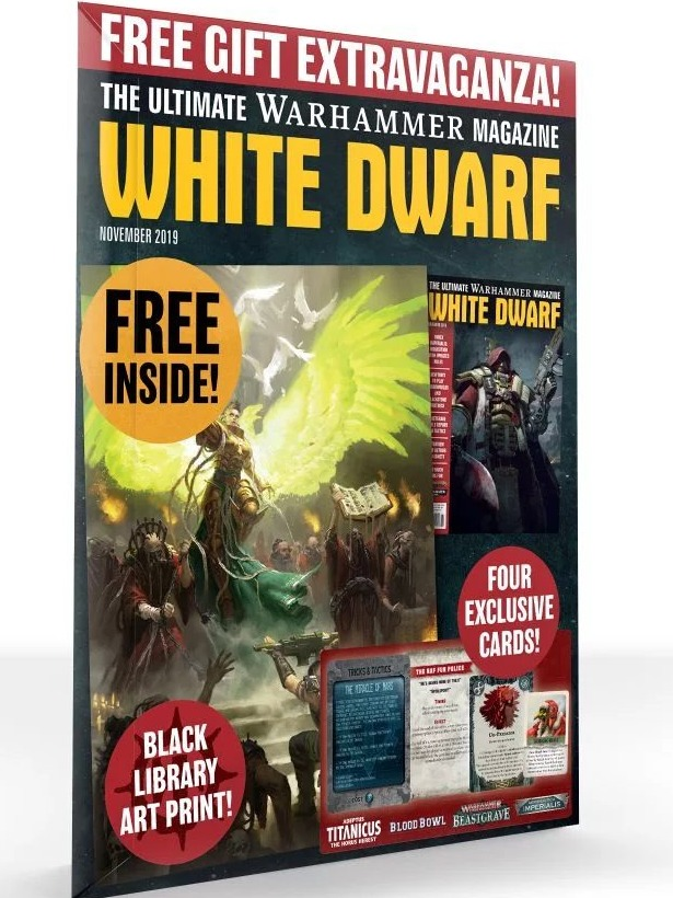 Časopis White Dwarf 2019/11 (PC)