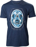 Tričko Assassins Creed - Find Your Past Brain Crest (velikost XL)