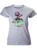 Tričko dámské Little Big Planet - Grey Melange