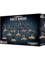 W40k: Drukhari Kabalite Warriors (10 figurek)
