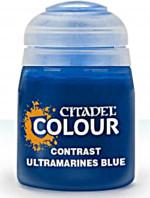 Citadel Contrast Paint (Ultramarines Blue) - kontrastní barva - modrá