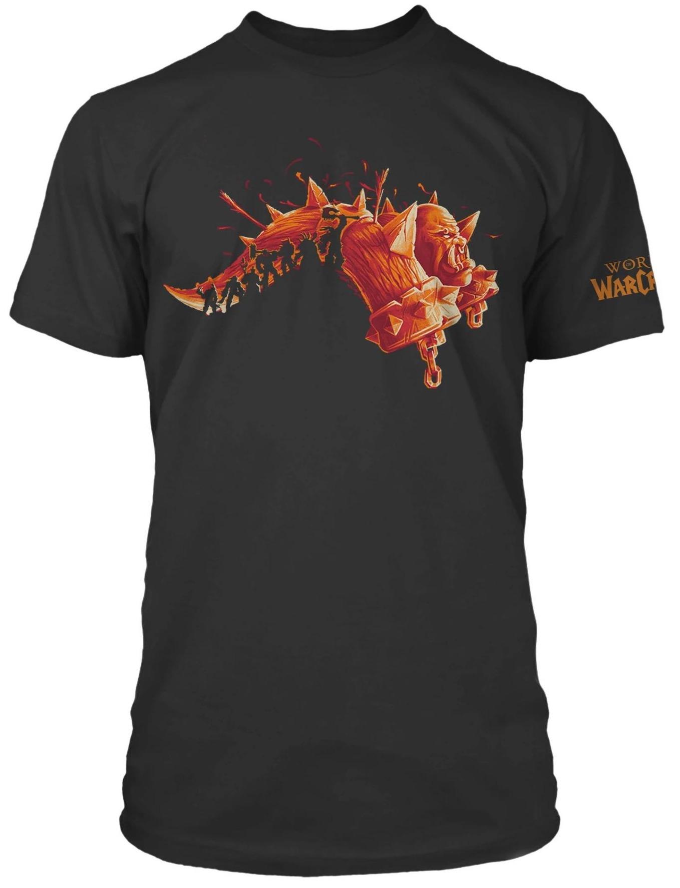 Tričko World of Warcraft - Expansion Series Warlords of Draenor (americká vel. XL / evropská XXL) (PC)