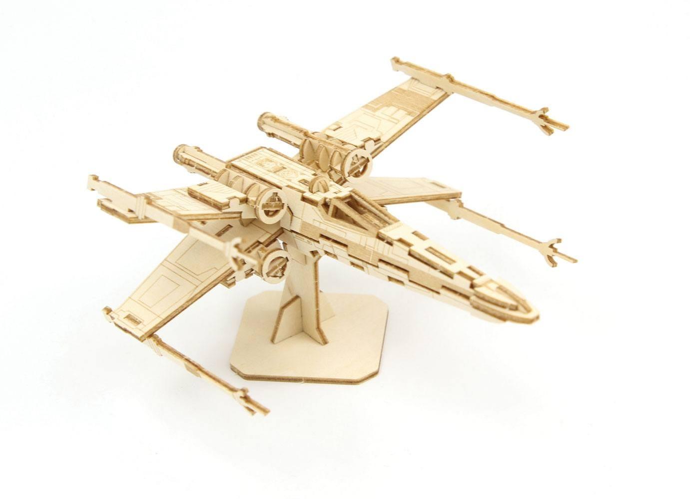 Stavebnice Star Wars - X-Wing (dřevěná) (PC)