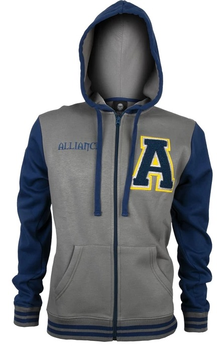 Mikina World of Warcraft - Alliance Varsity (americká vel. XL / evropská XXL) (PC)