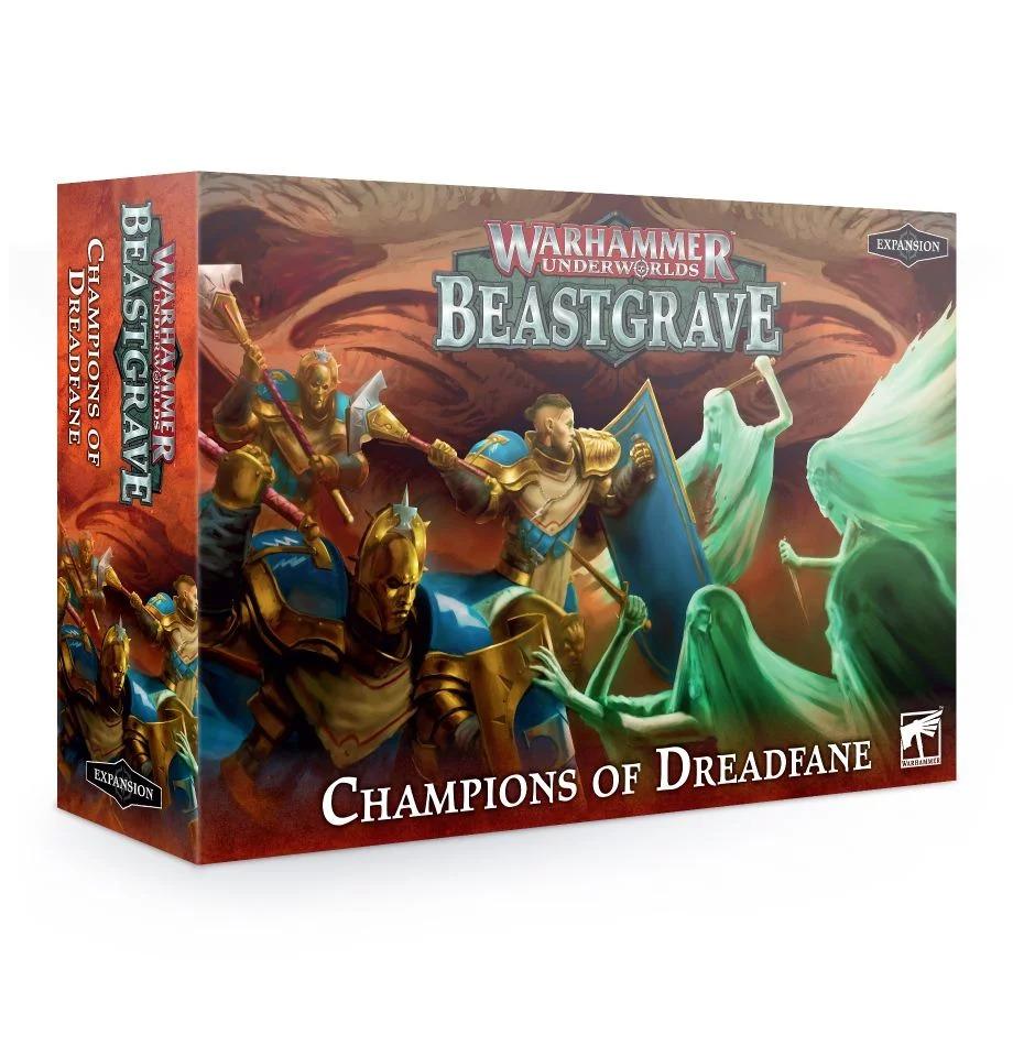 Desková hra Warhammer Underworlds: Beastgrave - Champions of Dreadfane (rozšíření) (PC)