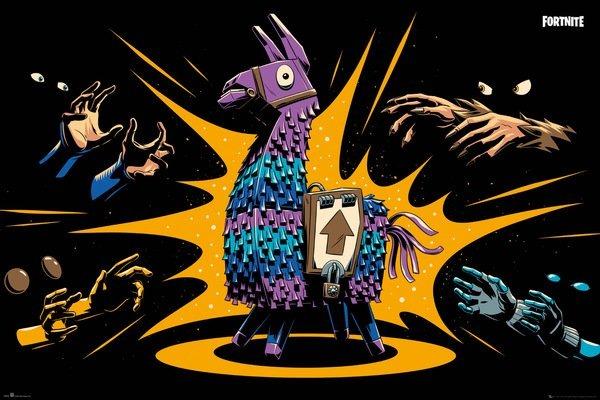 Plakát Fortnite - Loot Llama (PC)
