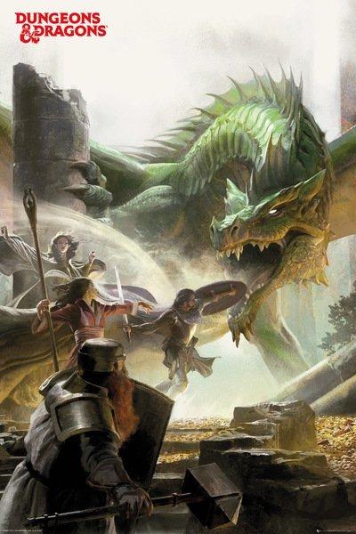 Plakát Dungeons & Dragons - Adventure (PC)