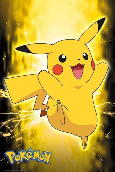 Plakát Pokémon - Pikachu Neon (PC)