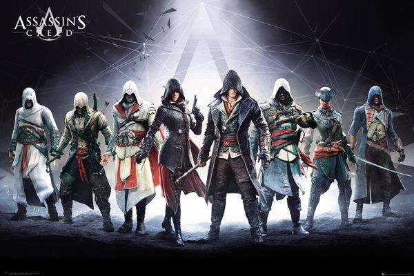 Plakát Assassins Creed - Characters