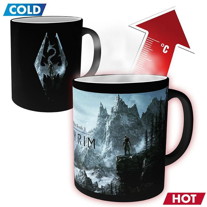 Hrnek Skyrim - Dragon Symbol (měnící se) (PC)