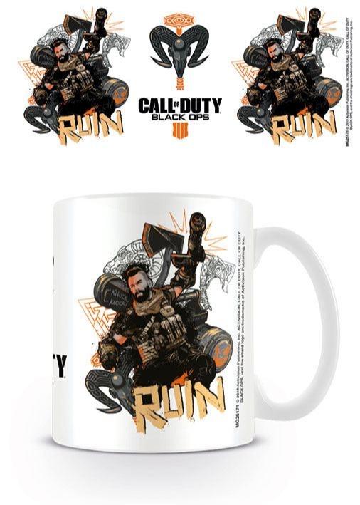 Hrnek Call of Duty: Black Ops 4 - Ruin (bílý) (PC)