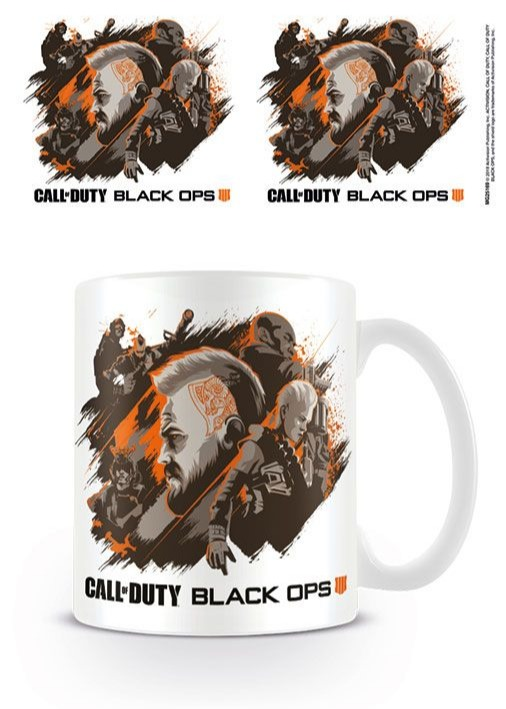Hrnek Call of Duty: Black Ops 4 - Group (PC)