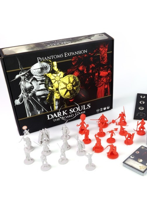 Desková hra Dark Souls - Phantoms Expansion (Invaders + Summons) (rozšíření) (PC)