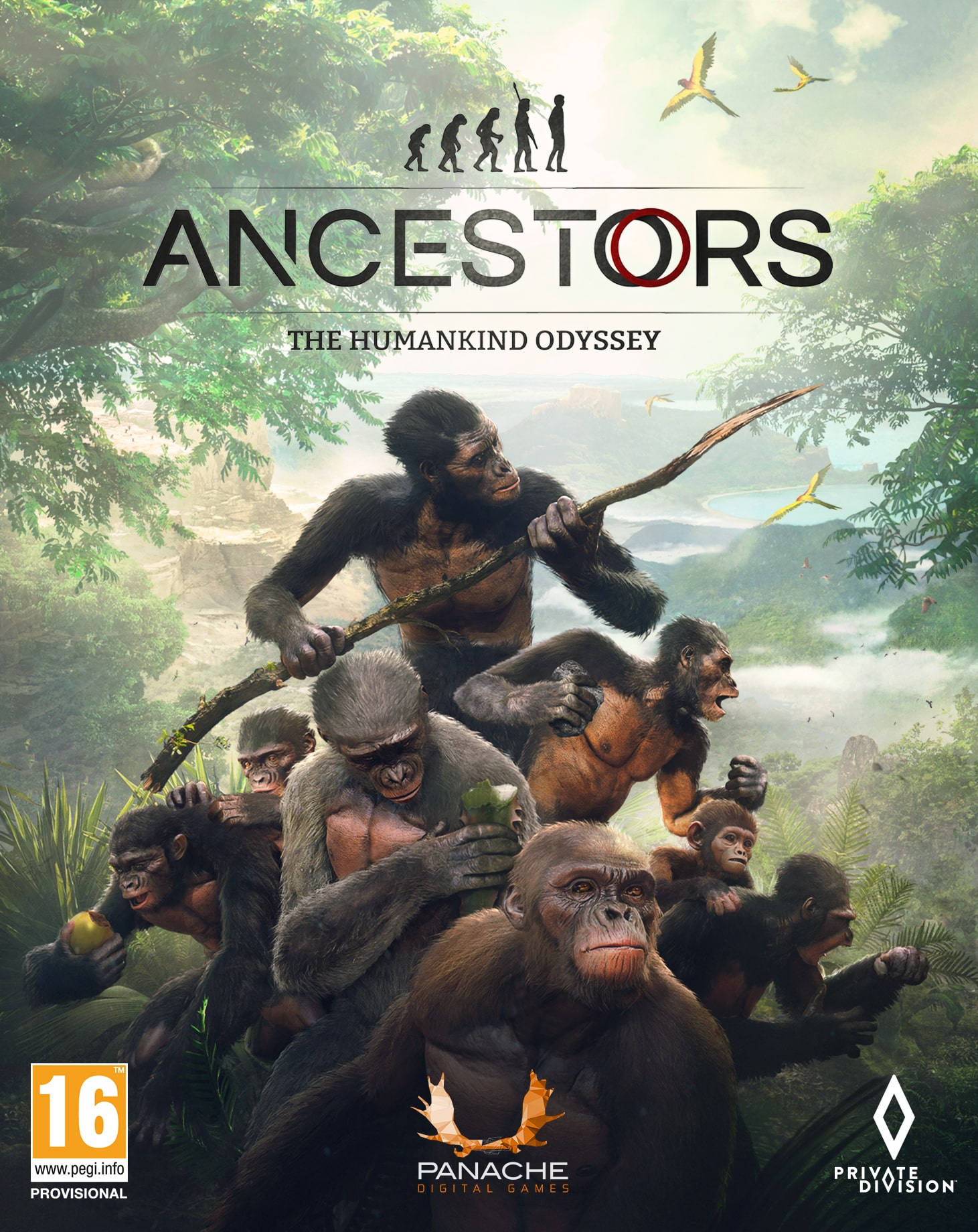 Ancestors: The Humankind Odyssey (PC) Epic (PC)