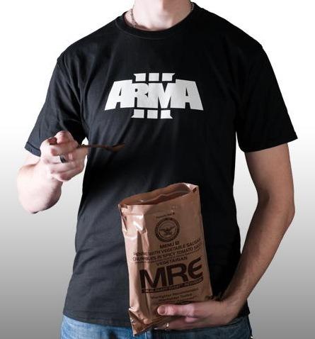 Tričko ArmA III - Logo (velikost XL) (PC)