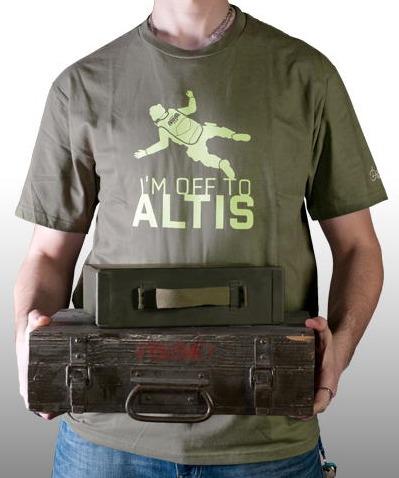 Tričko ArmA III - Off to Altis (velikost XXL) (PC)