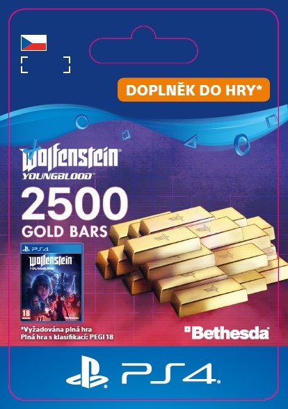 Wolfenstein: Youngblood - 2500 Gold Bars (PS4 DIGITAL) (PS4)