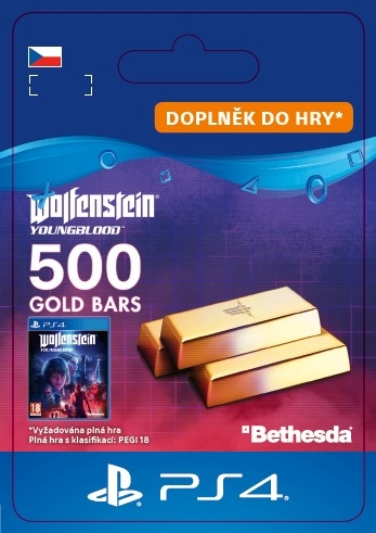 Wolfenstein: Youngblood - 500 Gold Bars (PS4 DIGITAL) (PS4)