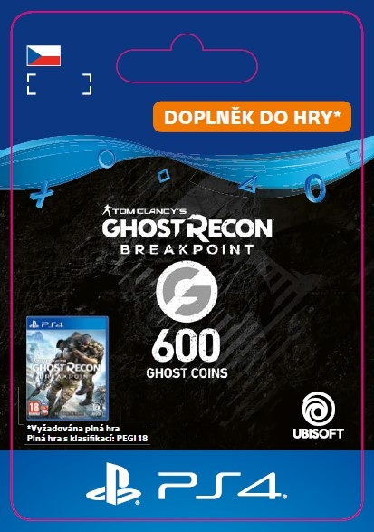 Ghost Recon Breakpoint - 600 Ghost Coins (PS4 DIGITAL) (PS4)