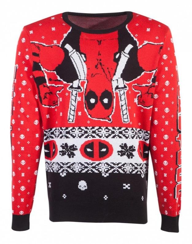 Svetr Deadpool - Holiday Deadpool (velikost XXL) (PC)