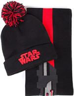 Čepice se šálou Star Wars - Darth Vader