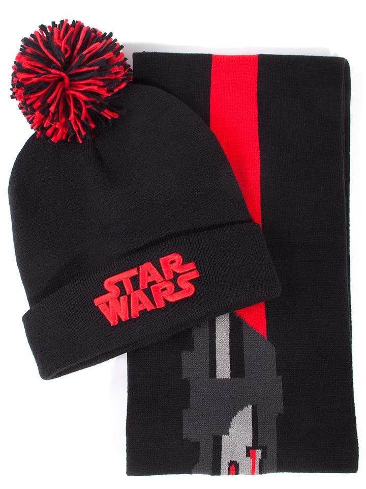 Čepice se šálou Star Wars - Darth Vader (PC)