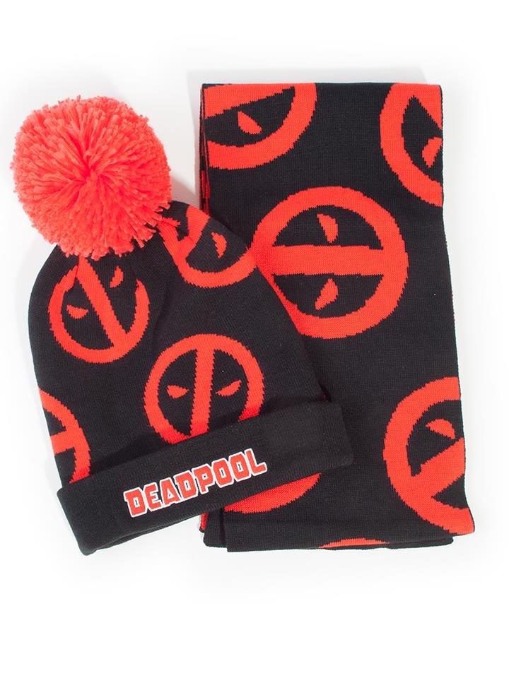 Čepice se šálou Deadpool - Symbol (PC)
