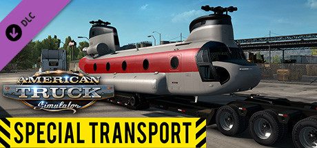 American Truck Simulator - Special Transport (PC) Klíč Steam (PC)
